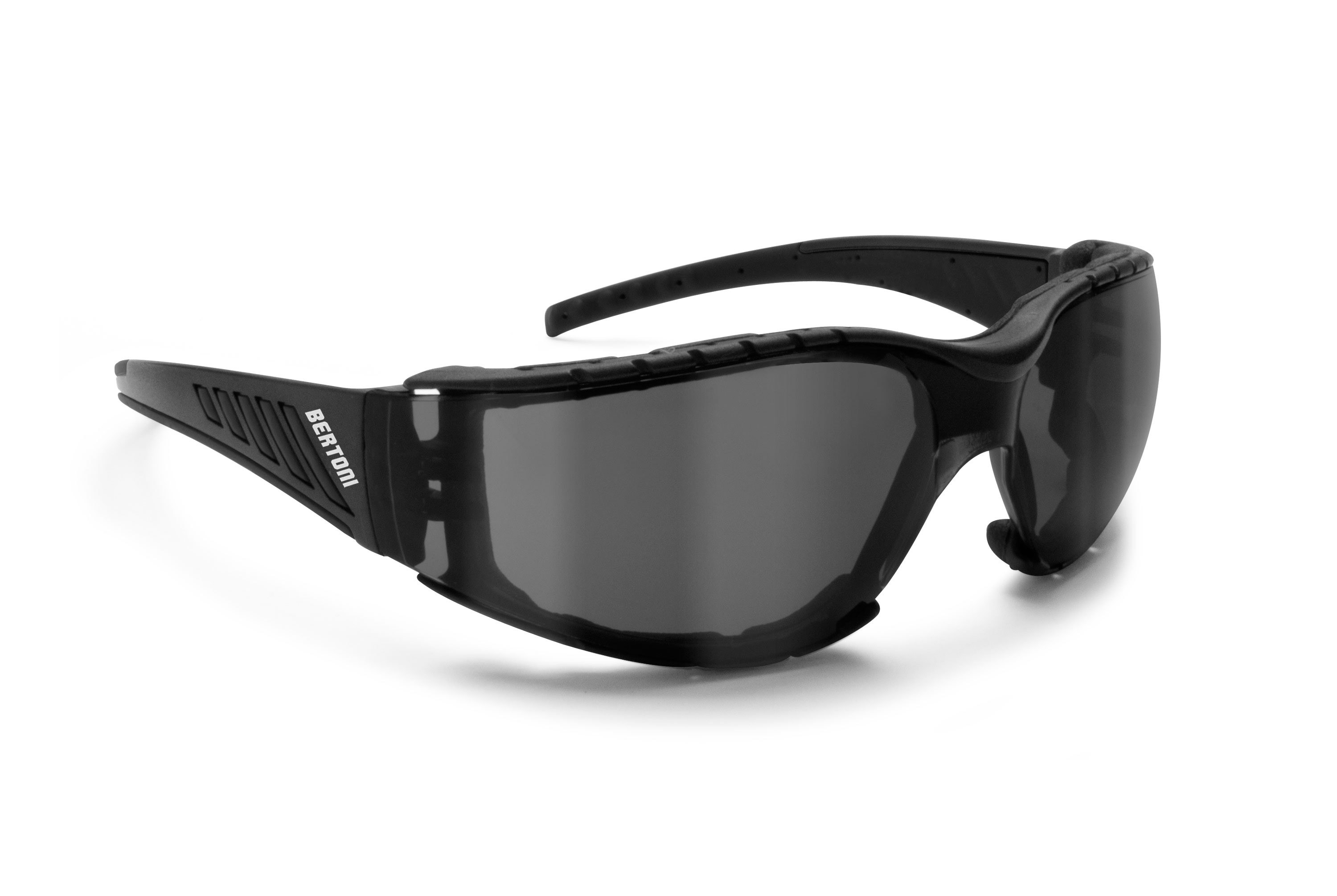 Antifog Motorcycle Sunglasses with Smoke Lenses AF149C
