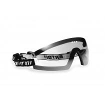 Bertoni Motorcycle Glasses with Optical Clip Prescription Lenses - Windproof AF79 Bertoni Italy