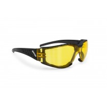 Antifog Motorcycle Sunglasses with Yellow Lenses AF149A