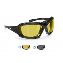 Photochromic Polarized Prescription Goggles with Strap P366FTA