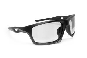 Photochromic Motorcycle Sunglasses – mod. Omega AF Photochromatic by Bertoni Italy