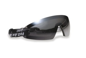 Bertoni Motorcycle Glasses with Optical Clip Prescription Lenses - Windproof AF79 Bertoni Italy