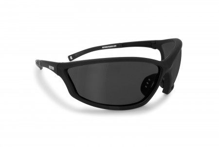Antifog Motorcycle Sunglasses with Smoke Lenses AF100C